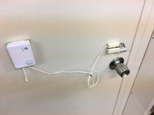 ドアの施錠状況を工夫で乗り切る
